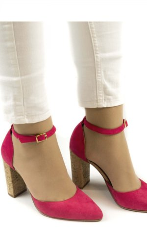 BELLA - Pink D'orsay Shoe.