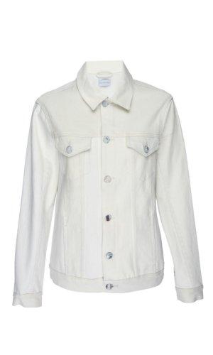 White Denim Boyfriend Jacket