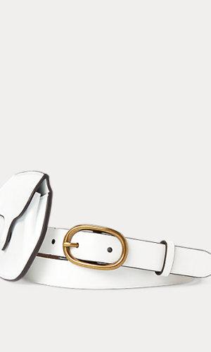 Leather Skinny Belt Bag