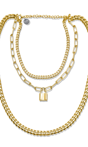 The Gold Triple Layer Chain