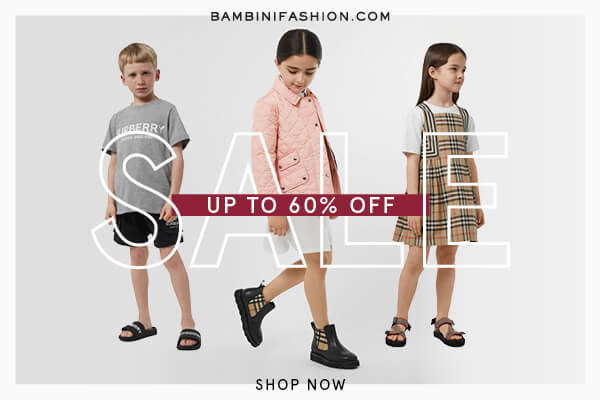 Bambini fashion shop banner
