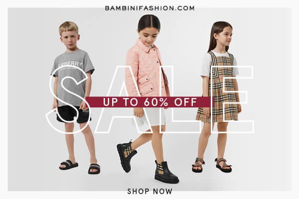Bambini fashion shop banner