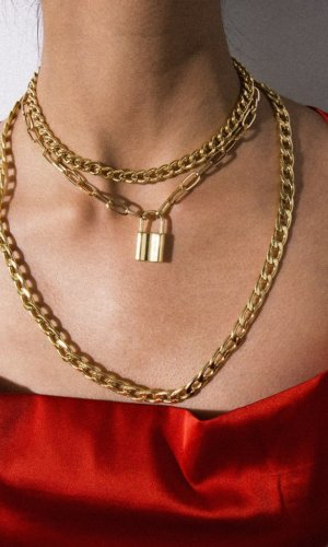 Gold Tripple Layer Chain