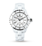 Chanel J12 White Ceramic and Steel 38 mm