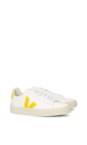 Campo white leather sneakers