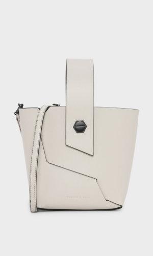 Wristlet Handle Bucket Bag