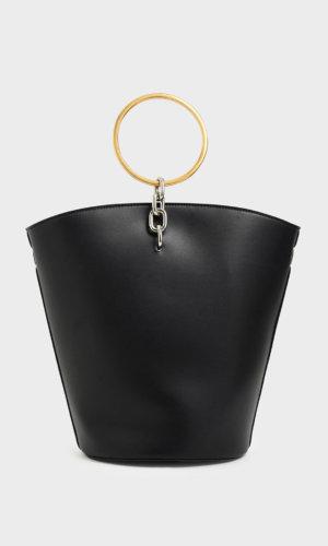 Large Bracelet Bucket Bag