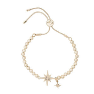Kate Thornton Gold North Star Friendship Bracelet