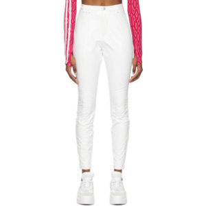 adidas x IVY PARK White Latex Trousers