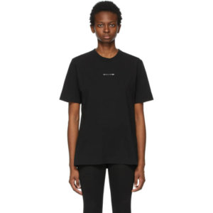 1017 ALYX 9SM Black Collection Name T-Shirt