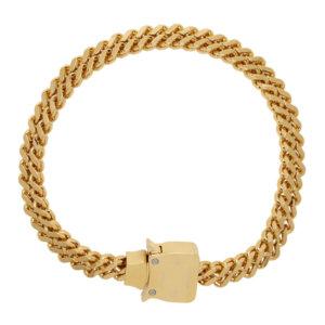 1017 ALYX 9SM Gold Cubix Chain Necklace