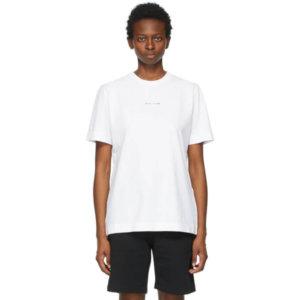 1017 ALYX 9SM White Collection Name T-Shirt