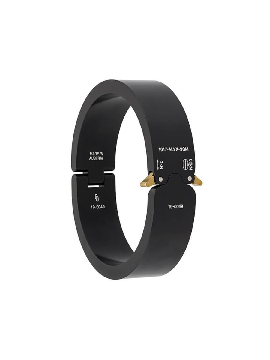 1017 ALYX 9SM matte-finish buckle bracelet - Black