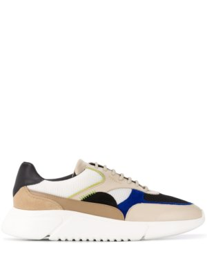 Axel Arigato colour blocked low top sneakers - Neutrals