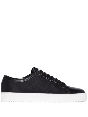 Axel Arigato panelled low-top sneakers - Black