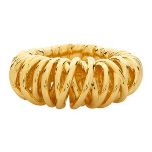 Bottega Veneta Gold Loop Ring