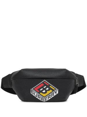Burberry Sonny graphic logo belt bag - Black