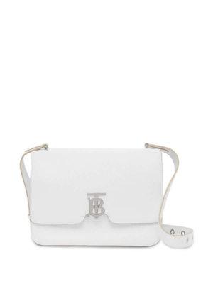 Burberry medium Alice leather bag - White