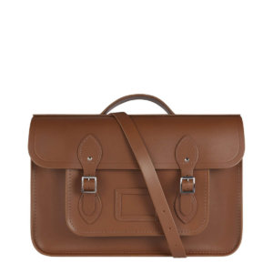 Cambridge Satchel 15 Inch Classic Batchel in Leather - Vintage