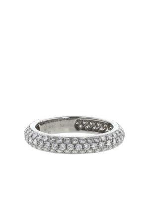 Cartier 1995 pre-owned platinum Mimi diamond ring - Silver