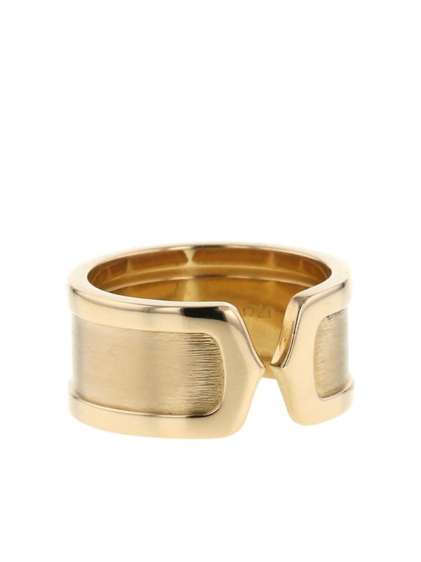 Cartier 2000s pre-owned 18kt yellow gold Open C de Cartier ring