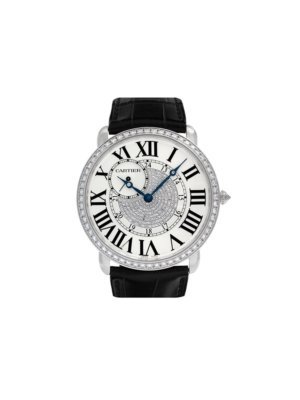 Cartier 2010 pre-owned Ronde Louis 42mm - Black