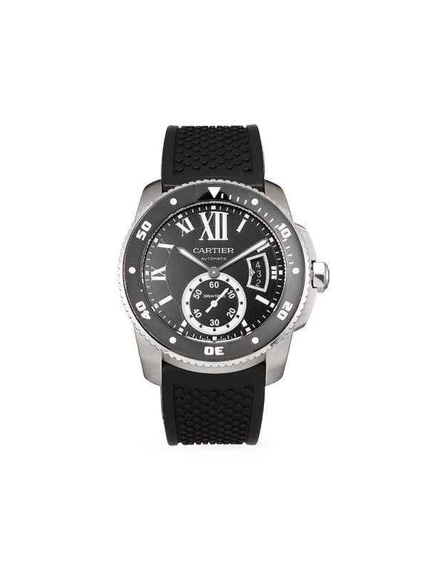 Cartier 2016 pre-owned Calibre 42mm - Black