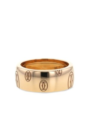 Cartier pre-owned rose gold Happy Birthday ring - Pink