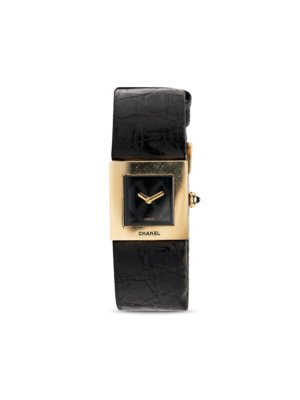 Chanel Pre-Owned 1990s pre-owned quartz 19mm - Black
