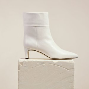 Dear Frances - Sway Boot, White