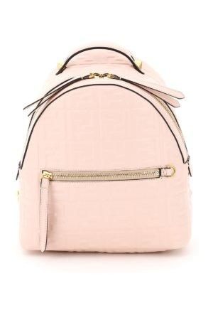 FENDI NAPPA FF MINI BACKPACK OS Pink Leather
