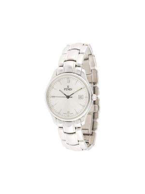 Fendi Pre-Owned pre-owned 210G quartz 20mm - Silver