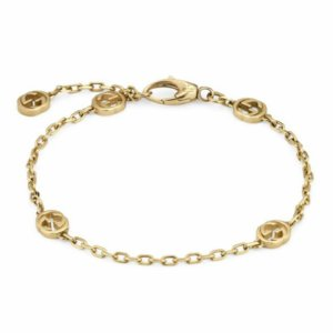 Gucci 18ct Yellow Gold Interlocking G Bracelet