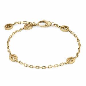 Gucci 18ct Yellow Gold Interlocking G Bracelet