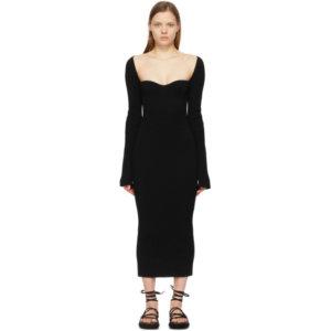 Khaite Black The Beth Dress