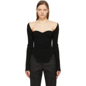 Khaite Black The Maddy Long Sleeve T-Shirt