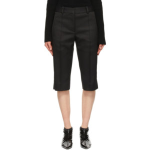 Khaite Black The Nicole Shorts