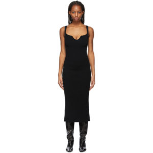 Khaite Black The Nina Dress