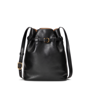 Leather Large Bellport Bucket Bag