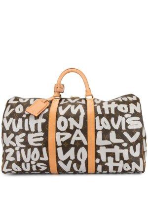 Louis Vuitton pre-owned Keepall 50 weekender bag - Brown