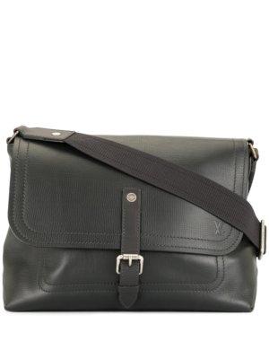 Louis Vuitton pre-owned logo messenger bag - Black