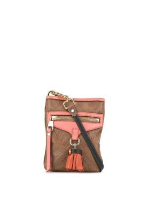 Louis Vuitton pre-owned monogram Underground Flight crossbody bag - Brown