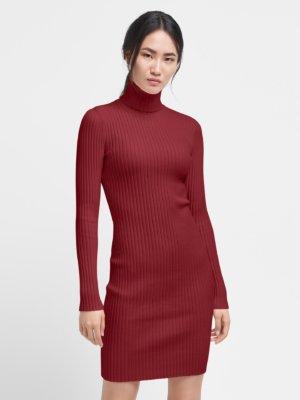 Merino Rib Dress - 3132 - L