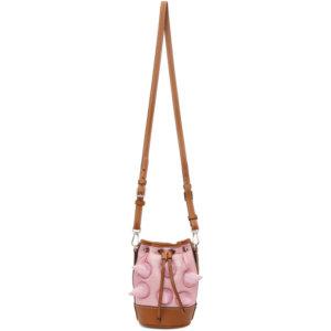Moncler Genius 1 Moncler JW Anderson Pink Down Critter Bag