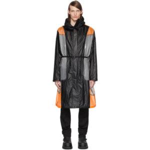 Moncler Genius 6 Moncler 1017 ALYX 9SM Black and Orange Colorblock Cosmos Jacket