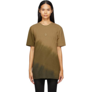 Moncler Genius 6 Moncler 1017 Alyx 9SM Khaki Faded T-Shirt