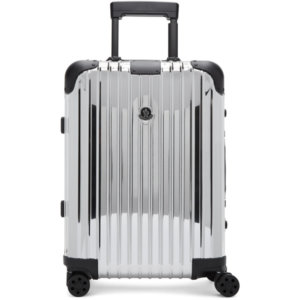 Moncler Genius Moncler Rimowa Reflection Silver Suitcase