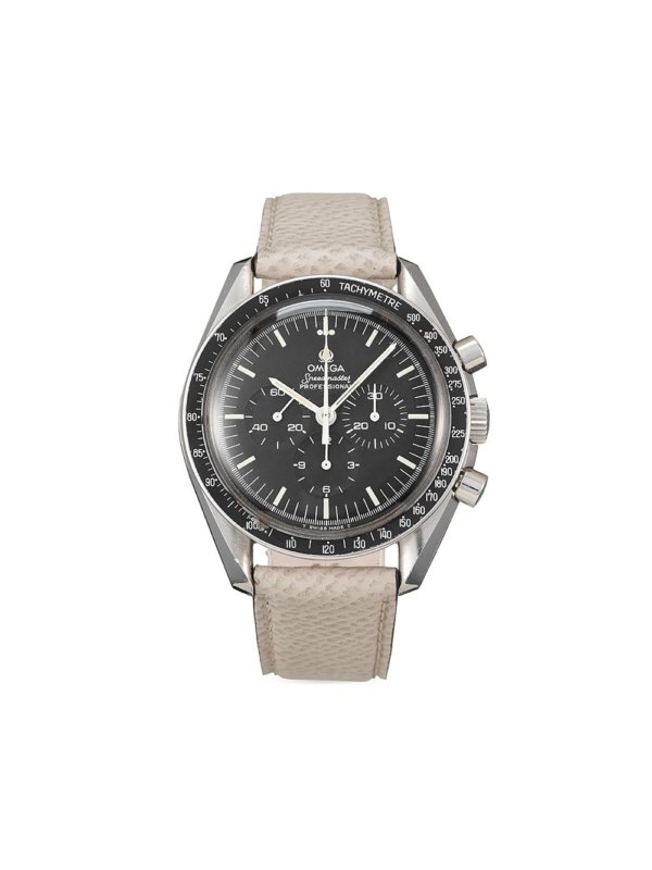 Omega 1983 pre-owned Speedmaster Professional Moonwatch 42mm - Black
