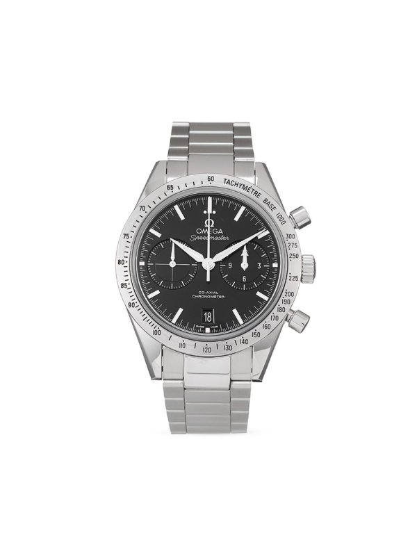 Omega 2017 pre-owned Speedmaster 57 Co-Axial Chronograph 41.5mm - Black