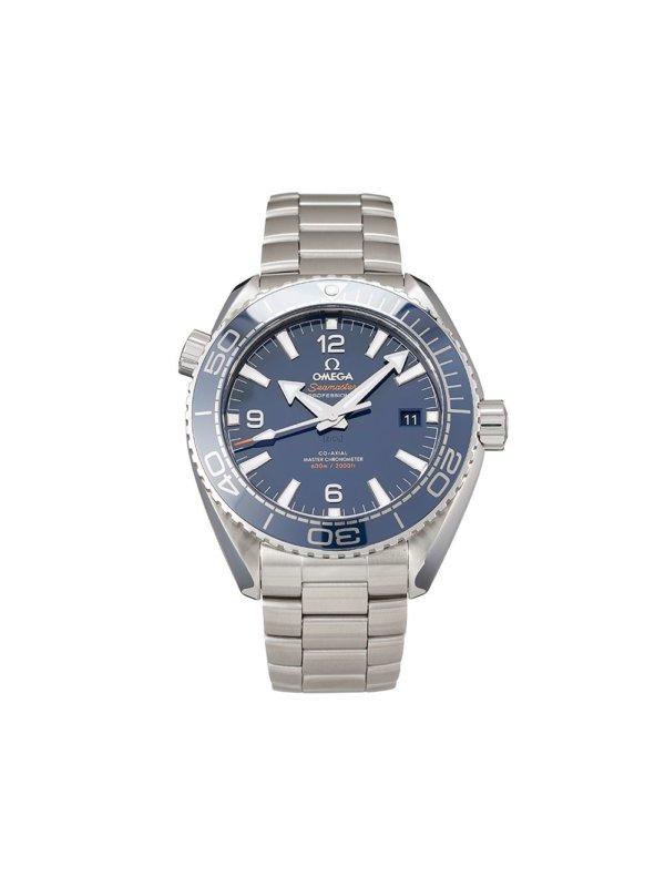 Omega 2020 unworn Seamaster Planet Ocean Co-Axial Master Chronometer 43.5mm - BLUE